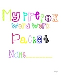 Prefixes Differentiated Word Work Packets