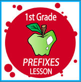 Prefixes Activities +  Prefixes Lesson, Poster, Prefixes Worksheet (Un, Pre, Re)