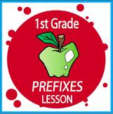 Prefixes Activities–1st Grade Grammar Hands-On Prefix Worksheets (Un, Pre, & Re)