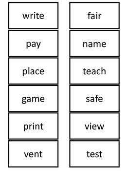 Prefixes Four Corners