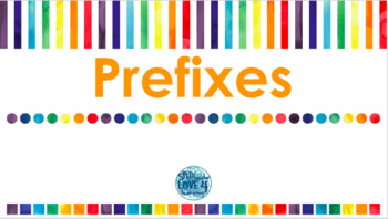 Prefixes GOOGLE CLASSROOM ACTIVITY!