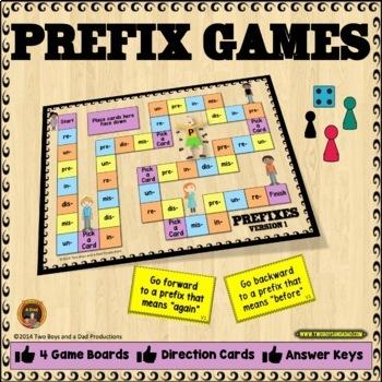 Prefix Games