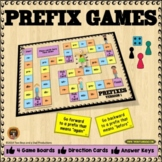 Prefixes Game with 4 Versions