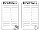 Prefixes Mid and Mis Card Game