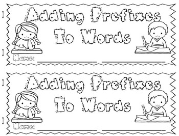 Prefixes - Mini Unit