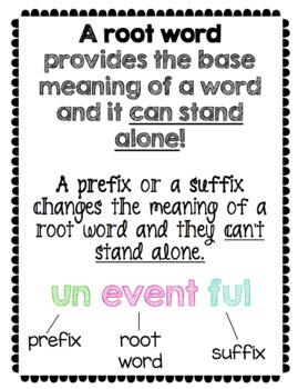 Prefixes NO PREP Packet