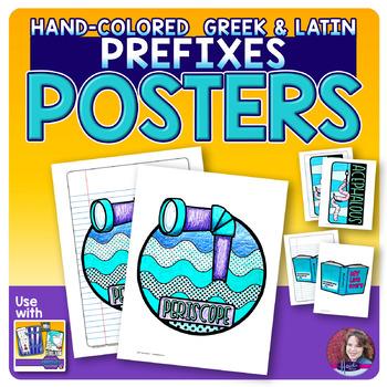 Prefixes POSTER • Greek and Latin Set