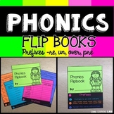 Prefixes | Phonics Flip Book | Journeys Half-Chicken