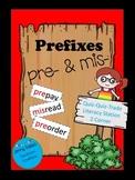 Prefixes Pre and Mis