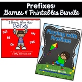 Prefixes: Printables and Games for 3rd Grade