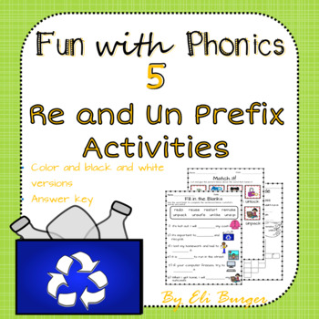 Prefixes - Re and Un