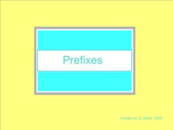 Prefixes Smartboard Lesson