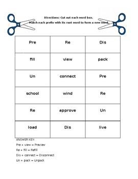 Prefixes Sort and Match