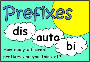 Prefixes & Suffixes (BUNDLE PACK)