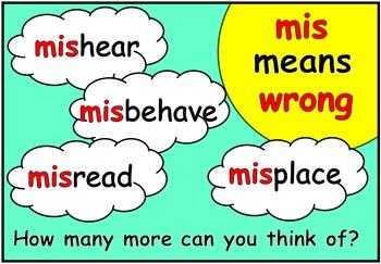 Prefixes & Suffixes (BUNDLE PACK)