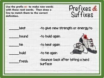 Prefixes & Suffixes (Grades 2-4) - GOOGLE INTERACTIVE CLASSROOM!