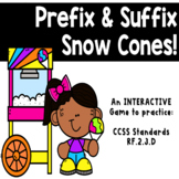 Prefixes & Suffixes Interactive Digital Game!! Great for R