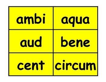Prefixes, Suffixes, Latin & Greek Roots Workstation Games Bundle