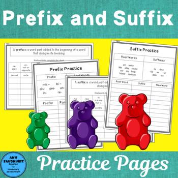 Prefixes & Suffixes Practice & Quiz