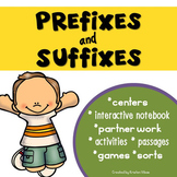 Prefixes and Suffixes Activities and Games