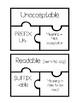 Prefixes & Suffixes Task Card Puzzles