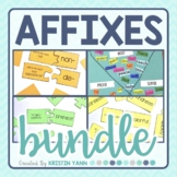 Prefixes, Suffixes, and Roots Activity Bundle