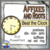 Prefixes and Suffixes Beat the Clock