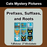 Prefixes, Suffixes, and Roots - Cats Mystery Pictures | Co