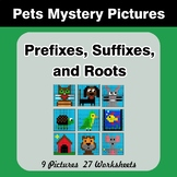Prefixes, Suffixes, and Roots - Pets Mystery Pictures | Co
