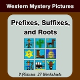 Prefixes, Suffixes, and Roots - Western Mystery Pictures |
