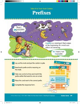 Prefixes (Take It to Your Seat Centers)