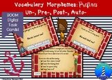Vocabulary Prefixes Task Cards: Un-, Pre-, Post-, & Auto-: