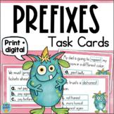 Prefixes Task Cards Grade 2