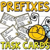 Prefixes Task Cards for Grades 3-4