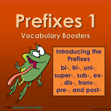 Prefixes - Vocabulary Boosters 1
