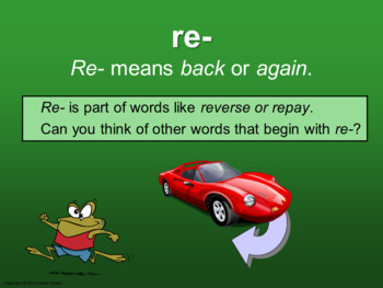 Prefixes - Vocabulary Boosters 2