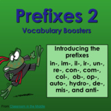 Prefixes - Vocabulary Boosters 2