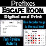 Prefixes: ELA Escape Room - English (Vocabulary Game)