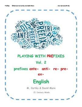 Prefixes Vol 2: ante- anti- re- pre- ex  Game