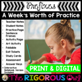 Prefixes Week Long Lessons Common Core Aligned
