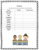 Prefixes Worksheet - Root Words and Prefixes