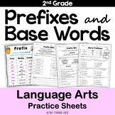 Prefixes and Base Words No Prep Printables