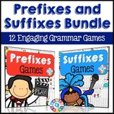 Prefixes and Suffixes Games Bundle