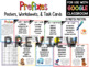 Prefix and Suffix Posters, Task Cards, and Printables BUNDLE