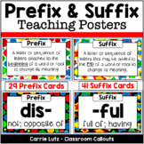 Prefixes and Suffixes Cards