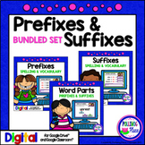 Prefixes and Suffixes Activity Bundle for Google Drive and