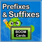 Prefixes and Suffixes BOOM Cards