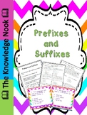 Prefixes and Suffixes Bundle