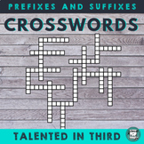 Prefixes and Suffixes Crossword Puzzles