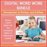 Prefixes and Suffixes  - Digital Phonics Activities   BOOM Cards™